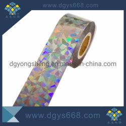 Горячая штамповка голограмма на наклейке этикетки в рулон