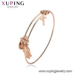 Mode couleur or Dubai Gold Pearl Bangle de bijoux de fantaisie