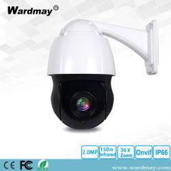 Surveillance de sécurité 4.5inch 36X 2.0/5.0MP dôme haute vitesse HD-IP caméra PTZ avec OSD