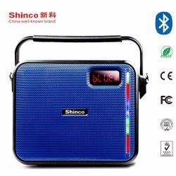 Shinco 6.5 Zoll-Karaoke-Lautsprecher-nachladbare Batterie beweglicher Bluetooth Lautsprecher mit Licht