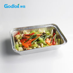 contenitore a gettare del di alluminio di uso della cucina dell'OEM 1150ml