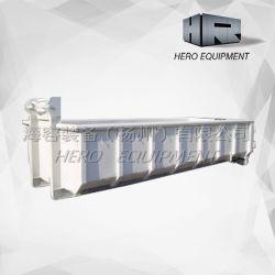 중부하 작업용 스크랩 금속 후크 리프트 자체 뎀스터 컨테이너