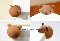 Kreatives Tierbären-Form-Silikon-scharfer Tisch-Ecken-Rand-Schutz, zum von Baby-Sicherheit zu schützen