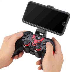 joystick sans fil pour téléphone mobile compatible avec iPhone 6/6S/7 Plus