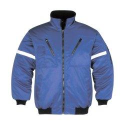 En343高い可視性の安全反射安全衣類の冬のパッディングの衣服