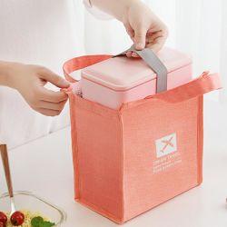 Almoço - Sacola grande organizador do fecho de viagem Caixa para Mulheres Homens Filhos Saco térmico