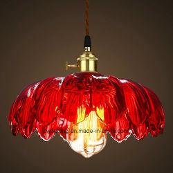 Стекло подвесной светильник для внутреннего освещения шесть цветов