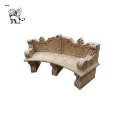 Antiek beëindig Antieke Bank abm-04 van de Decoratie van de Tuin van het Kalksteen
