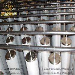 Malla de alambre de titanio de alta presión de plegado hidráulico de aceite filtros vela