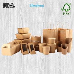 De douane drukte de Beschikbare Verpakking van het Snelle Voedsel van het Document af