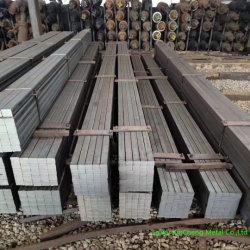Barra d'acciaio quadrata laminata a caldo Cina S45c C45 AISI 1045 Ck45