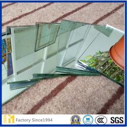 Hoja de aluminio de 1,8 mm claro cristal espejo Costom Forma para Salón