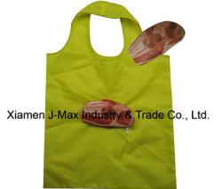 Sacchetto di acquisto pieghevole, stile della carne, riutilizzabile, promozione, sacchetti novelli, sacchetti di drogheria, regali, peso leggero, accessori & decorazione