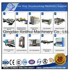 Máquinas para produção de contraplacado Painel de menores dimensões Fabricante Fabricado na China/ total de revestimento de melamina folheado de linha de produção de contraplacado pressionando