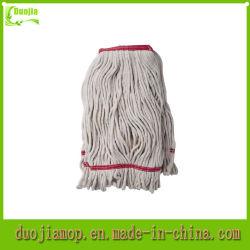 Schleifen-Enden-Staub-Mopp-Kopf-natürlicher Baumwollmopp
