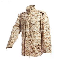 Camuflaje de desierto Digital M65 Campo Militar Coat chaqueta