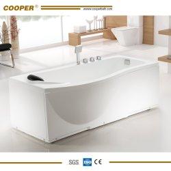 Independente de acrílico painéis Surround Banheira com chuveiro combinação de mistura (C-9002)