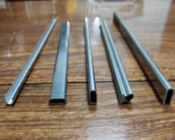 Tube de profil en acier inoxydable AISI 304