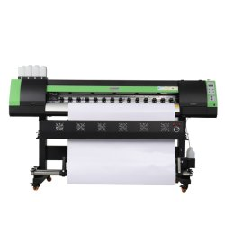 1440dpi는 단식해 실내 옥외 접착성 비닐 스티커 인쇄 기계를 인쇄한