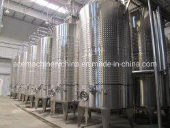 Les réservoirs de stockage de vin en acier inoxydable cuve de fermentation des conteneurs en acier