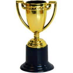 卸し売り高品質はプラスチック製のスポーツ賞の金属の金のトロフィのコップをカスタマイズした