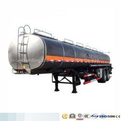 3 L'utilitaire d'essieu 42m3 de l'asphalte liquide chauffé le bitume Réservoir Réservoir réservoir pétrolier semi-remorque