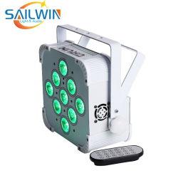 9*10W 4в1 Quad RGBW LED Slim PAR лампа