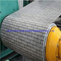 La couleur de mise en relief les bobines en acier prépeint Galvalume utilisés sur le matériel de paroi