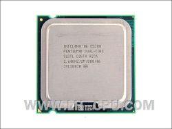 CPU Pentium da Intel E5300 Slgtl