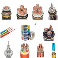 Multi Kerne schwemmten das flexible/feste konservierte kupferne Aluminiumleiter-PVC/XLPE/PE Isolierfeuersignal-Bauunternehmen an, das elektrischer Draht Gleichstrom-Solarkabel anschließt