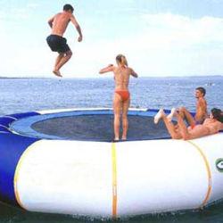 O PVC inflável trampolim para adultos