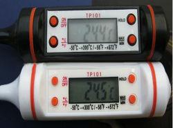 Lcd-Bildschirmanzeige-Digital-Nahrungsmittelthermometer für Küche