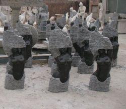 El realismo de mármol y granito y resumen tallas de piedra
