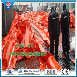 PVC Solide coloré de flottement de la rampe d'huile, l'eau de remplissage de la rampe de barrage en caoutchouc