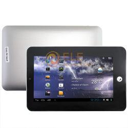 Android 4.0 بحجم 7 بوصات، و8850، و1.2 جيجاهرتز، و512 م، وHDMI 4 جيجابايت كمبيوتر لوحي مزود بكاميرا إيثرنت RJ45 WiFi