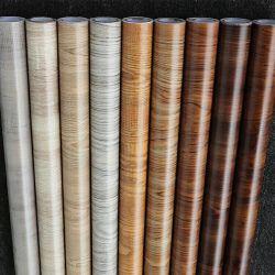 PVC 나무로 되는 짜임새 장식적인 포일 비닐 MDF 가구를 위한 자동 접착 박판 필름