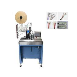 Ful automatique de décapage et le sertissage de la machine multicoeurs gaine de câble et de dénudage de fil machine de sertissage