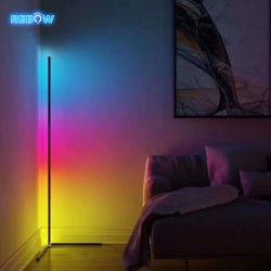 LEIDENE van de Tribune van de Driepoot van het Huis van de Plank van de Daling van de Voorraad van Rebow Verschepende Slimme Ongebruikelijke Decoratieve Eigentijdse RGB Verre Staand lamp