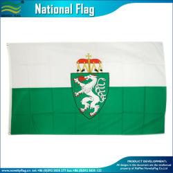 Шелк печать полиэстер открытый баннер земли Штирия Австрии флаг Австрии (J-NF01F03120)