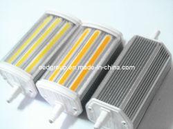 Verduisterende 118mm 15W R7s LEIDENE Lichte Dubbele LEIDENE die van Einden Bollen voor R7s Schijnwerper worden gebruikt