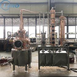 Vodka Industrial Automática do destilador destilador de álcool de vinho tinto álcool destilador de cobre