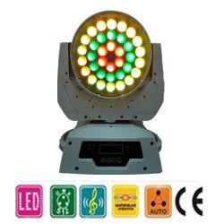 36PCS 9W (4 في 1) LED ضوء-تكبير/تصغير متحرك للرأس