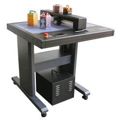 Découpe de haute précision Boîte de paquet de la machine de décisions de la faucheuse à plat