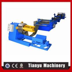 Le métal de refendage de tôle en acier de la machine avec Decoiler Recoiler Ligne de Refendage bobines en acier