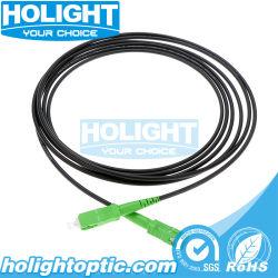 3.5mm SC/APC-SC/APC 광섬유 패치 코드 블랙