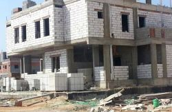 Isolante térmico em concreto de cimento AAC parede exterior do material de revestimento de paredes