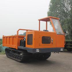 엔지니어링 고무 트랙 4톤 운송 차량 덤프 크롤러 트럭