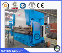 آلة فرامل الضغط الهيدروليكية 125t (WC67Y-125X3200)