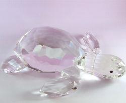 De leuke Schildpad van het Kristal voor Decoratie