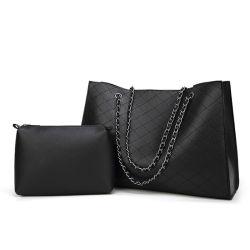 De Vrouwen van de luxe doen Grote Zak 2 van de Ketting van Lingge van de Ontwerper Pec in zakken Vastgestelde Dame Shoulder Crossbody Handbag Tote Zak